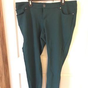 Torrid Green All Night Pant
